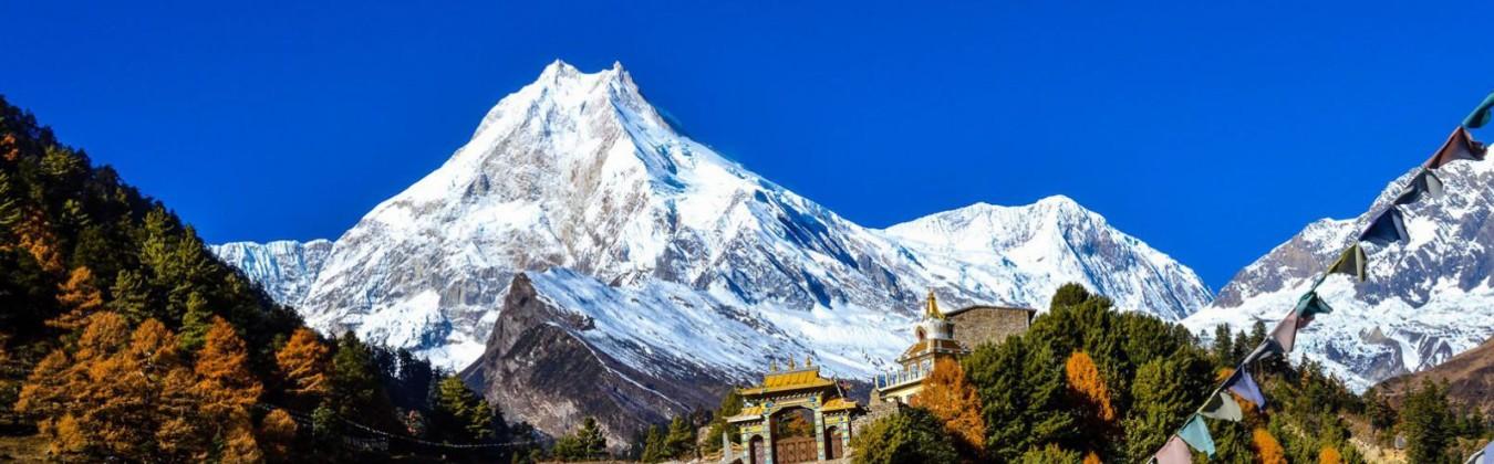 Stunning View of Mt. Manaslu